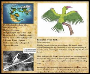 Encyclopedia of Aglaia - Palmated frond-bird