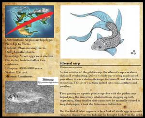 Encyclopedia of Aglaia - Silvered carp
