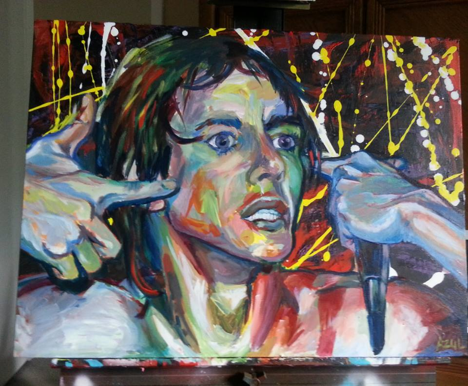 Iggy Pop by wisemansicks66