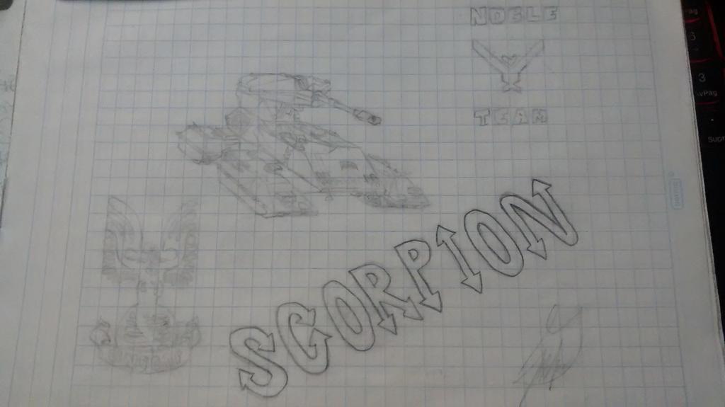 Halo Scorpion by squeeker029
