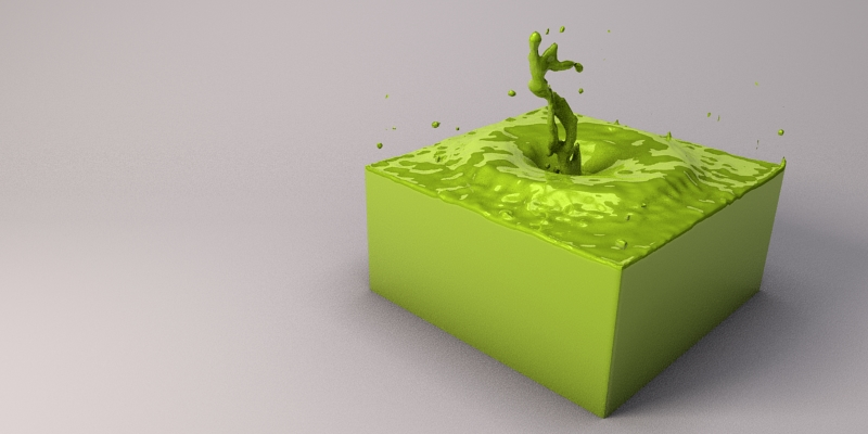 Fluid Sim. Part 2 of 2. by marslyr