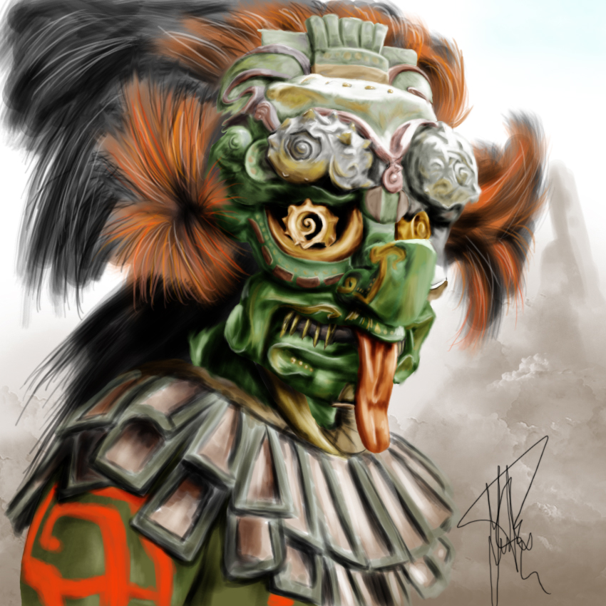 Aztec God By JuanPuerta On DeviantArt