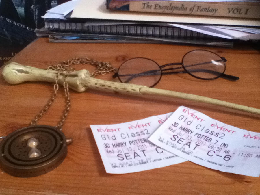 Harry Potter Premier Tickets 1 by EmeliaJane