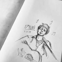 Bob Dylan Sketch