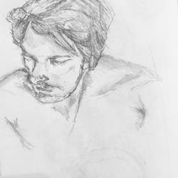 Sketchbook 2 - Male Study
