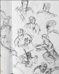 Sketchbook 4 - Black Sails Sketchdump