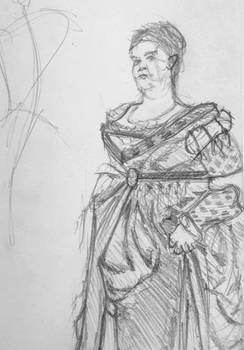 Sketchbook 5 - Renaissance Woman