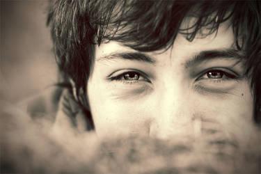 smiling eyes by BlueFish24