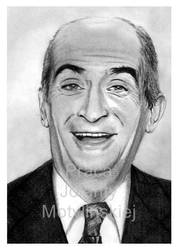 Louis de Funes - Smile! by jolabrodnica