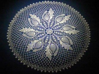 Crochet Doily by jolabrodnica