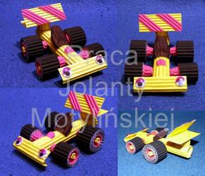 F1 Car (KOKORU) by jolabrodnica