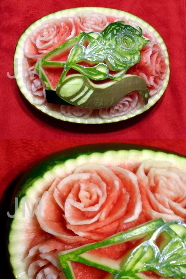 Watermelon Carving by jolabrodnica