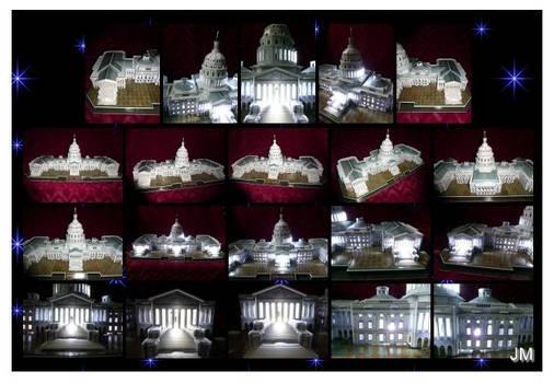 The U.S. Capitol - paper model