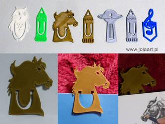 Bookmark - HORSE and Horseshoe