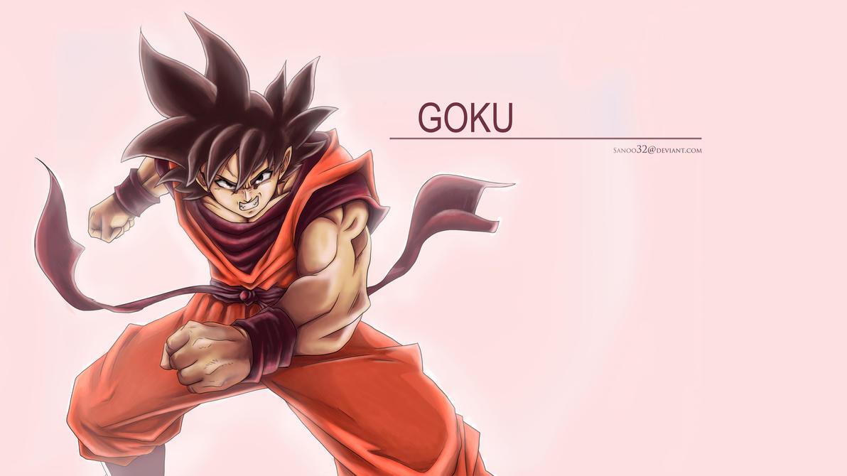 Goku Wallpaper by Sanoo32