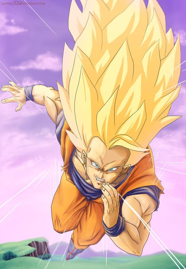SSJ3 Goku by Sanoo32