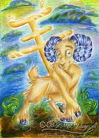 Chinese Zodiac - Ram by mmishee