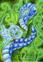 Chinese Zodiac - Snake by mmishee