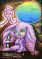 Chinese Zodiac - Rabbit by mmishee