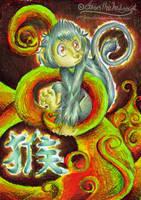 Chinese Zodiac - Monkey by mmishee