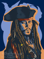 Jack Sparrow Vector by mmishee
