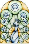 Watercolour Peacock