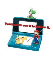 Nintendo 3DS advertisement by mmishee