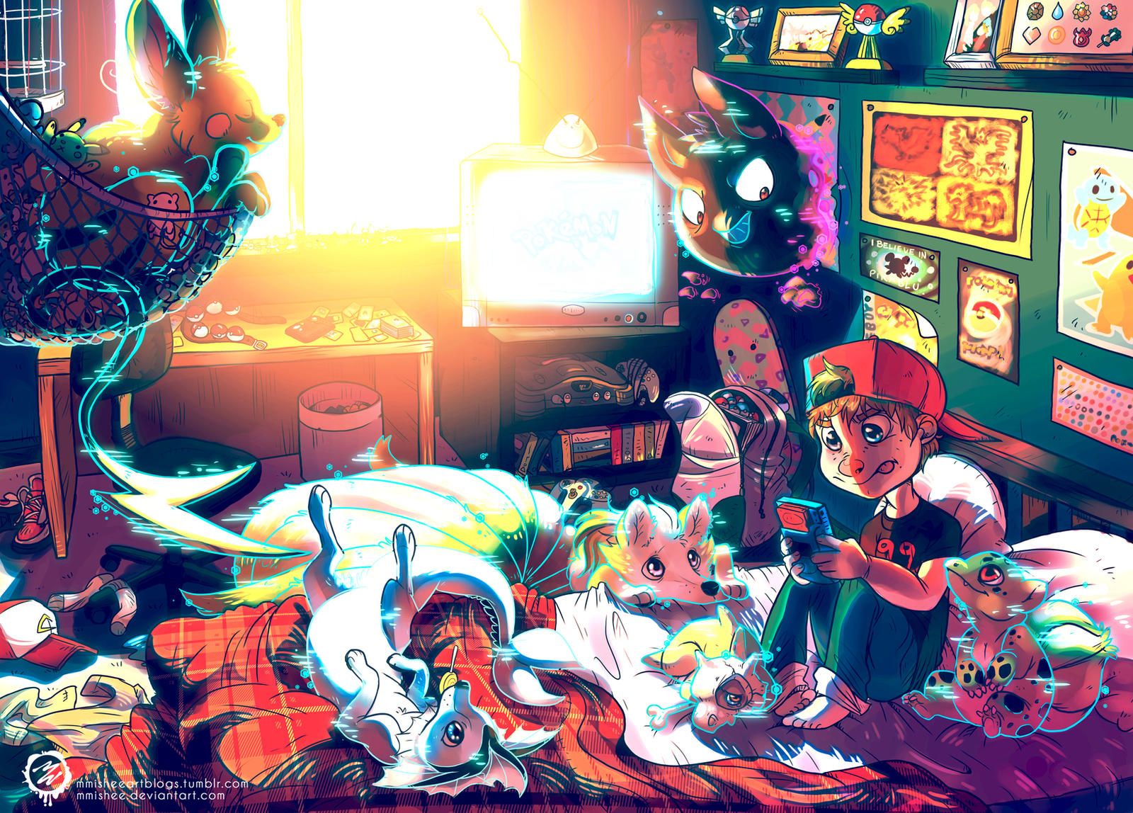 When we were young - Pokemon by mmishee