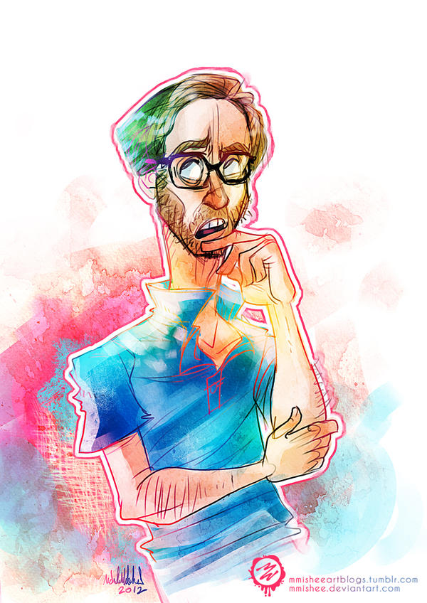 Stephen Merchant by mmishee