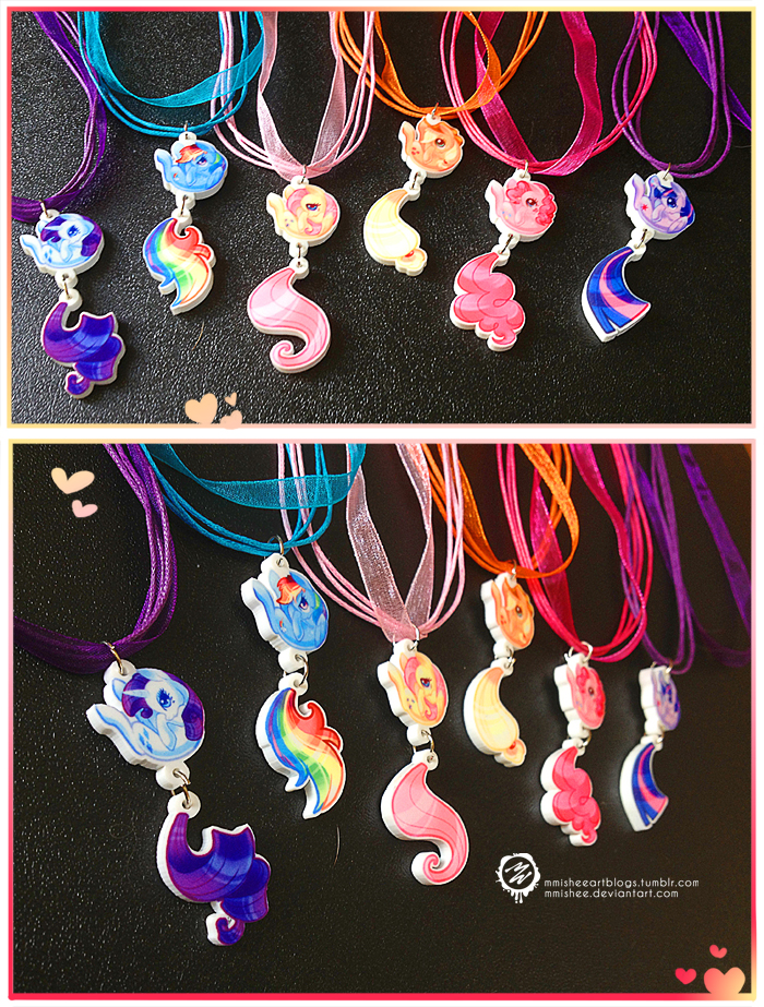 MLP charm necklace set by mmishee