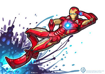 Iron Man - Showing Off by mmishee