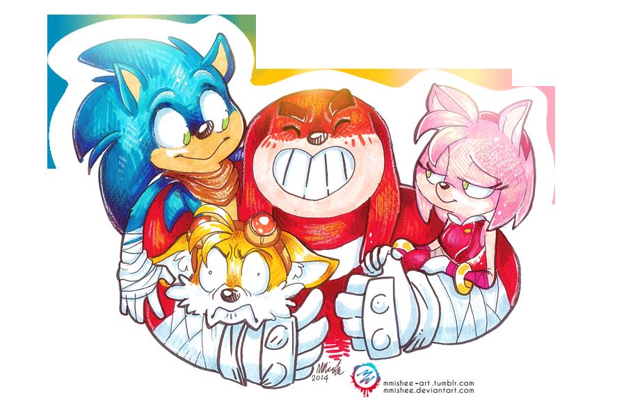 Sonic Boom Amy by Ryan Jampole