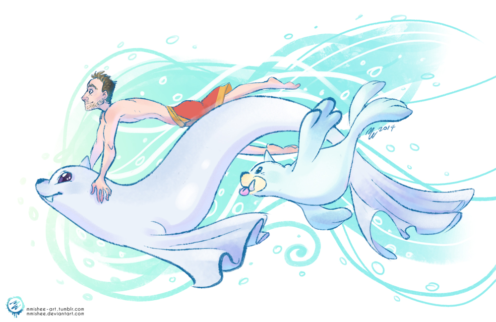 Justin S Water Pokemon Dewgong And Seel 463329425