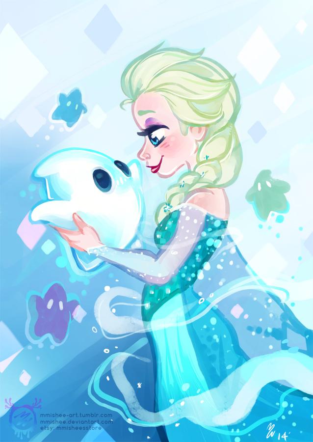 Elsa and Luma by mmishee