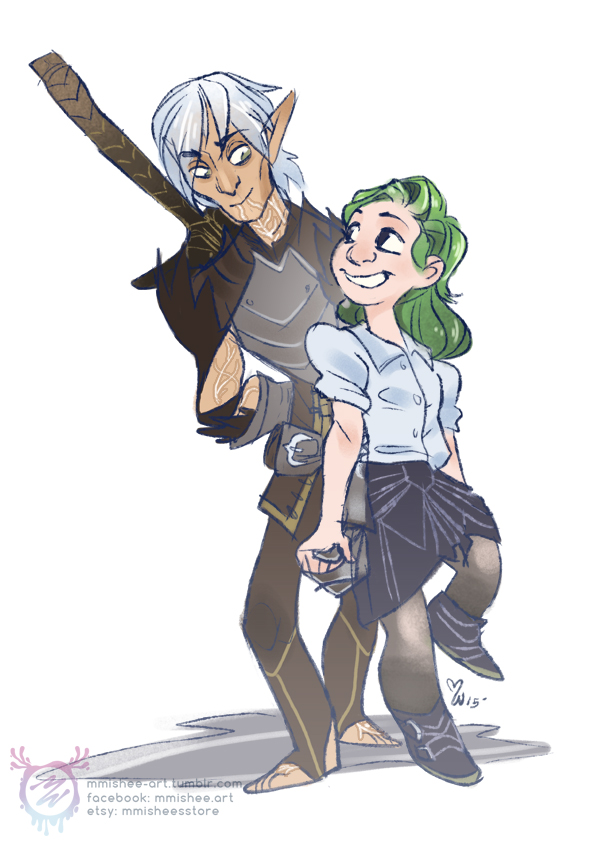 Fenris Commission by mmishee