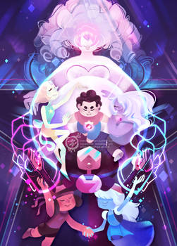 The Crystal Gems - Steven Universe