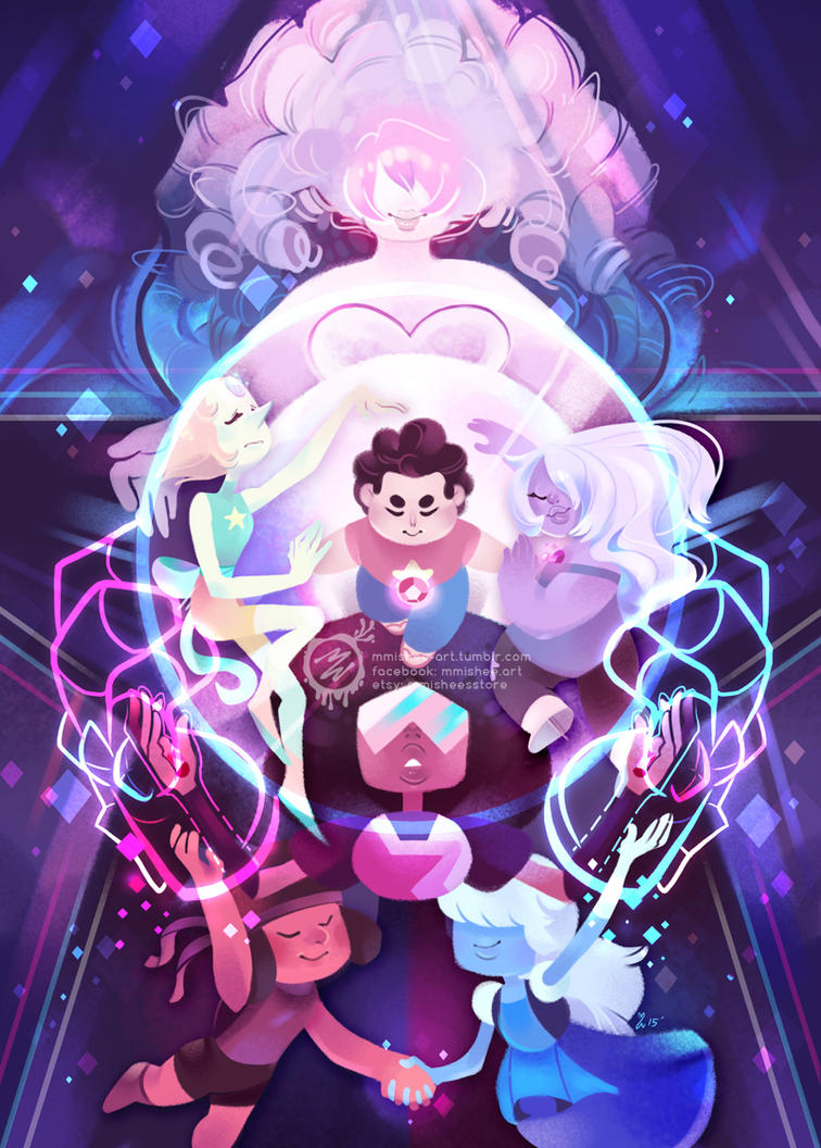 The Crystal Gems - Steven Universe by mmishee