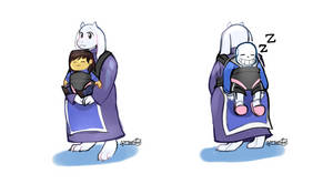 Toriel takes the family on a day trip