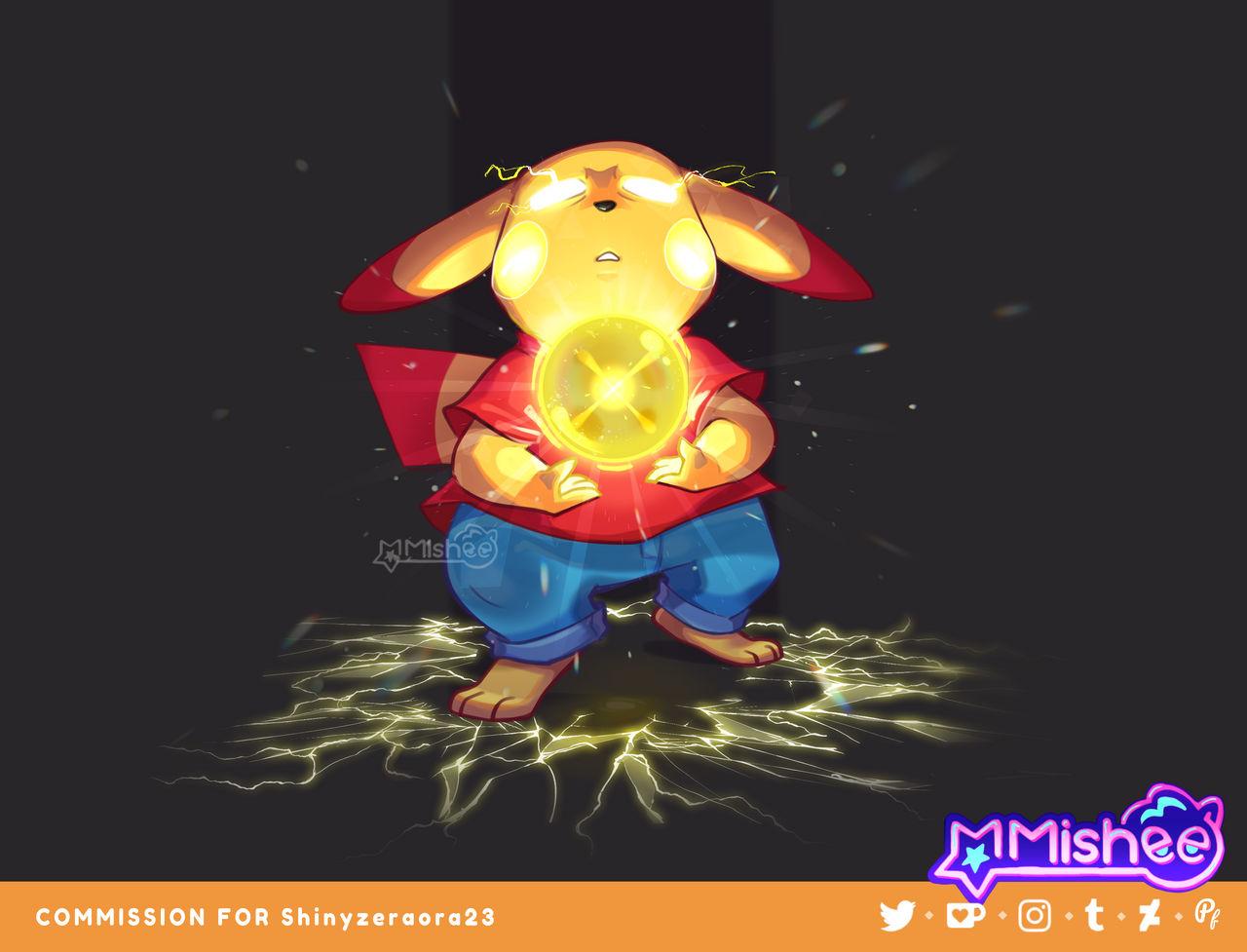 Commission - Chu Chu Light Ball