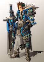Sapphire Warrior by chenkl