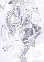 sketch of perona by chenkl