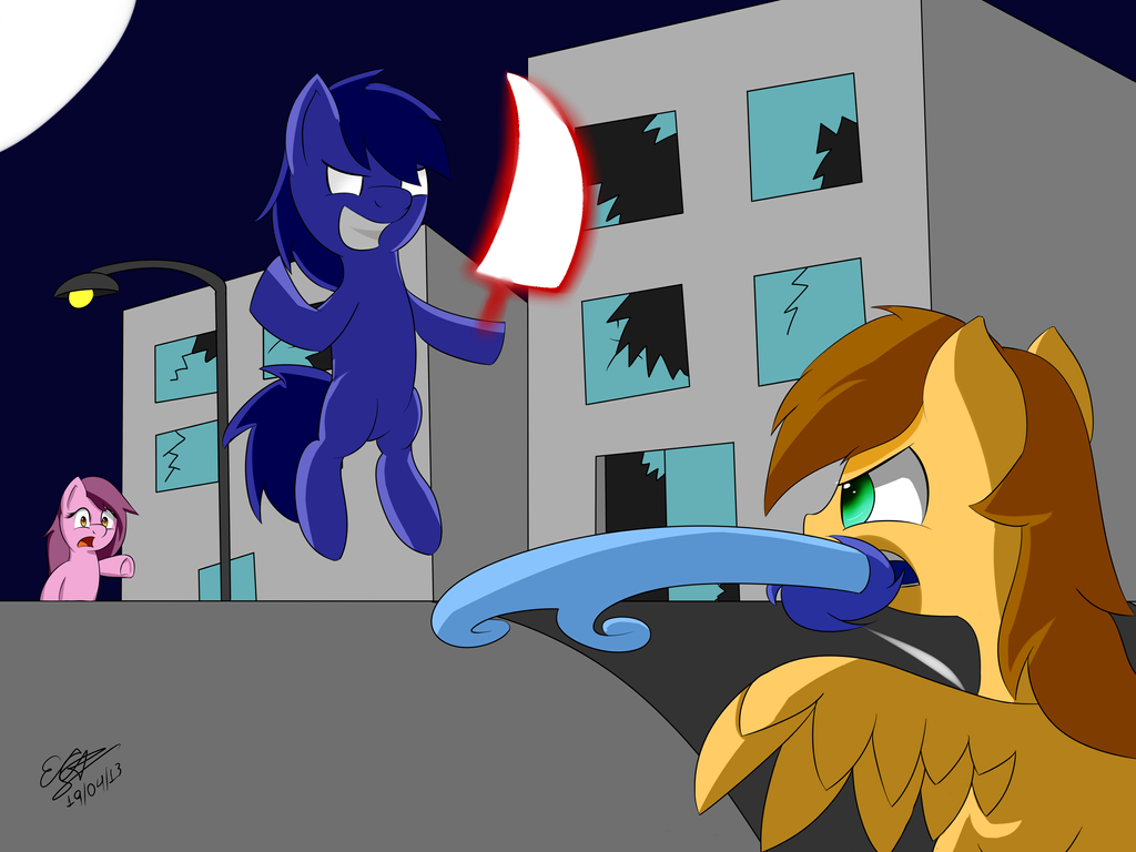 By Excrem By Excrem On Deviantart: Nightmare Ponycity By Extreme-sonic On DeviantArt