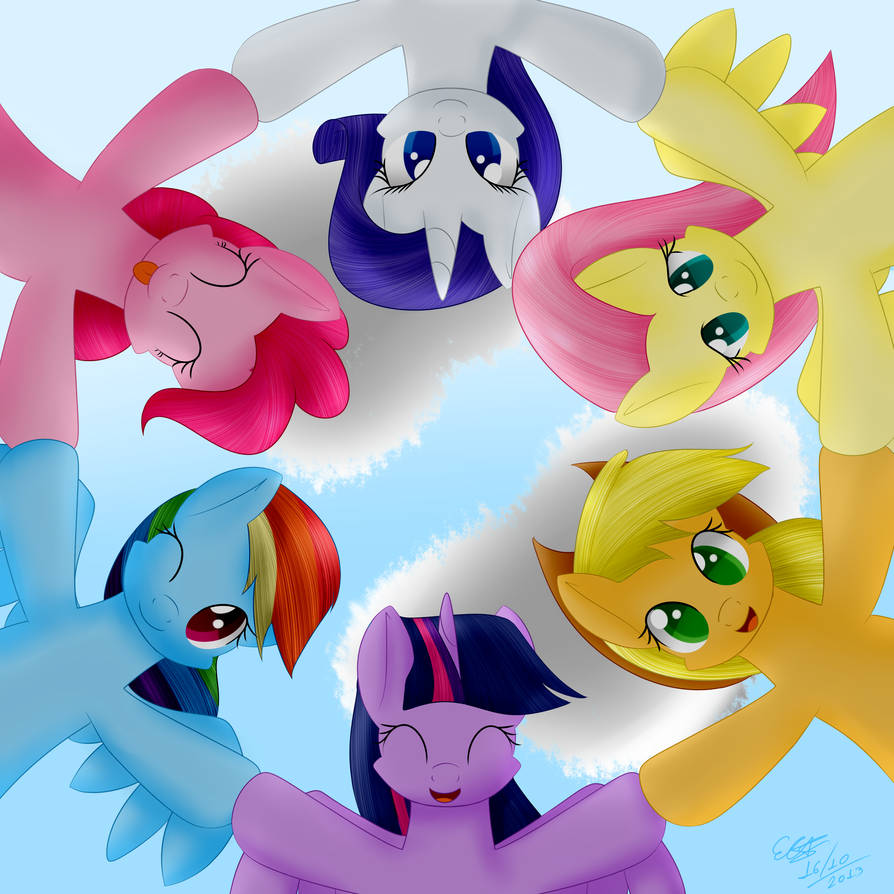 mane_6___circle_you__circle_you_by_extre