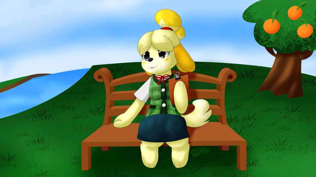 Animal Crossing - Isabelle by extreme-sonic