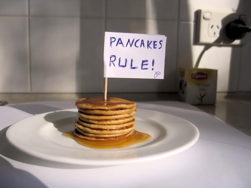 Pancakes rule by OpalMist