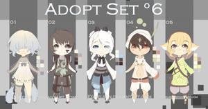 -ADOPT SET'6- OPEN 3/5 by EdhelSen
