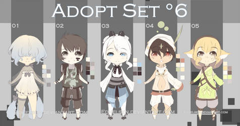 -ADOPT SET'6- OPEN 3/5 by EdhelSen