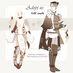 Knight and Hunter adopt | OPEN 1/2