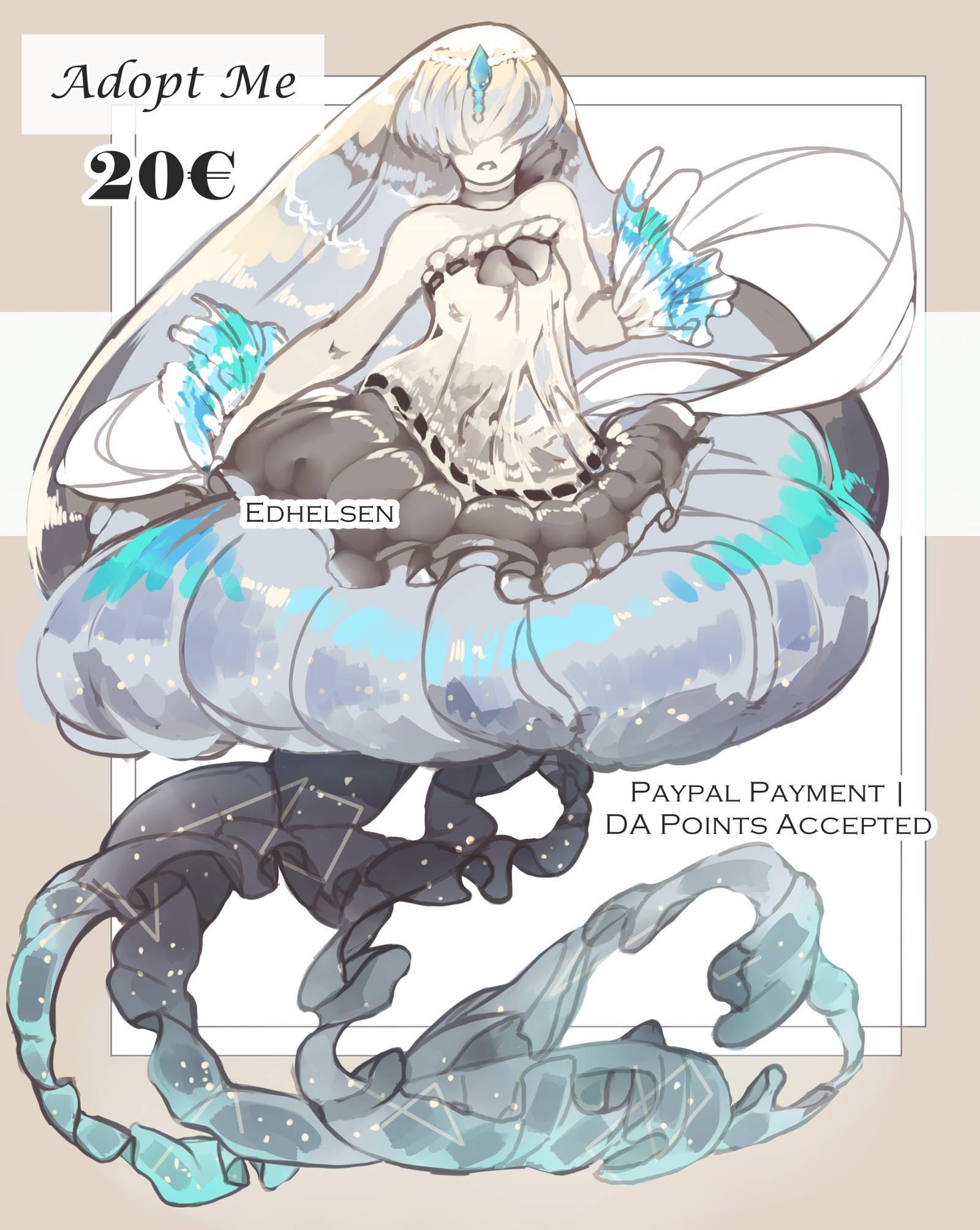 Mermaid adopt III   CLOSED by EdhelSen