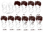 Sakimichan Hair Step By Step In Paint Tool SAI